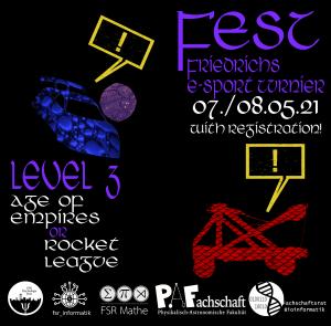E-Sport Turnier: FEST Level 3: 07./08.05.21