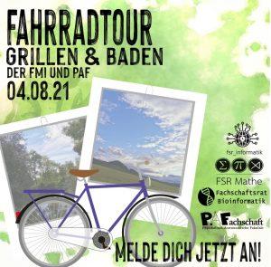 Fahrradtour – 04. August 12:00 Uhr