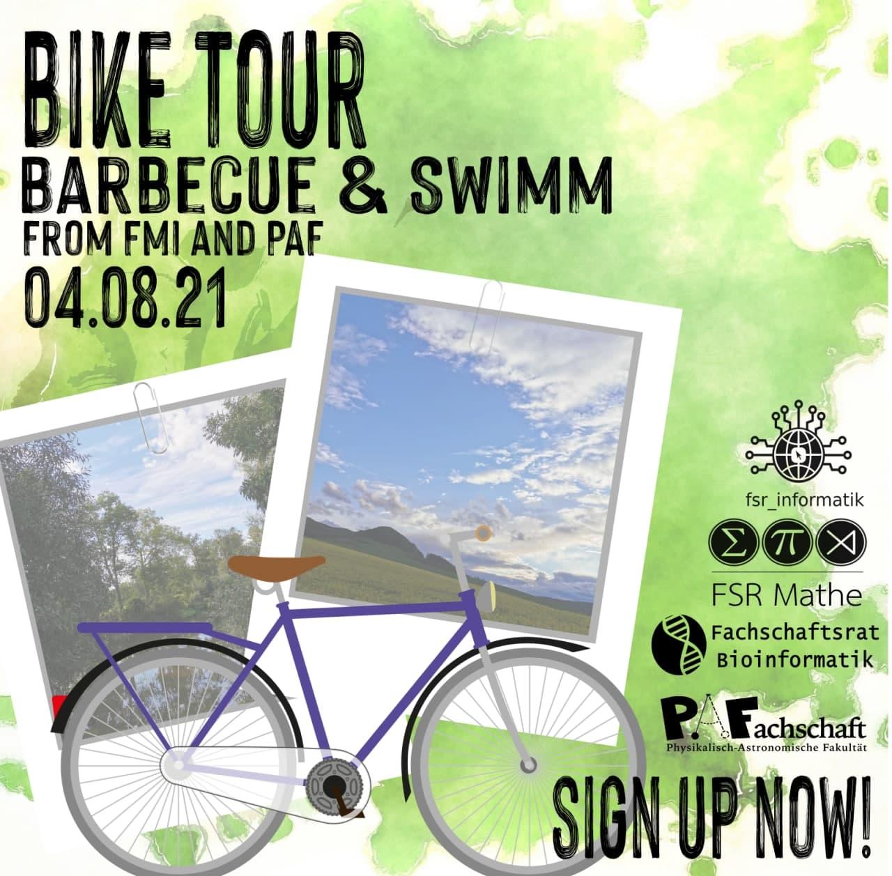 Bike Tour – 4th August 12pm