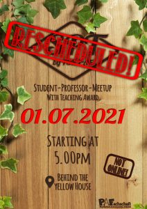 Read more about the article Student Professor MeetUp – RESCHEDULED! – 1st July
