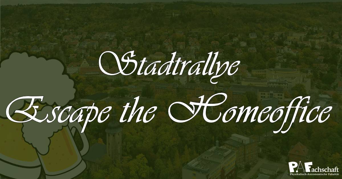 Stadtrallye – Escape the Homeoffice