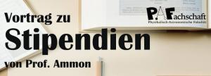 Vortrag: Stipendien – Montag 01.03.21 18:00Uhr