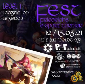 Read more about the article E-Sport Turnier: FEST – 12./13.03.21